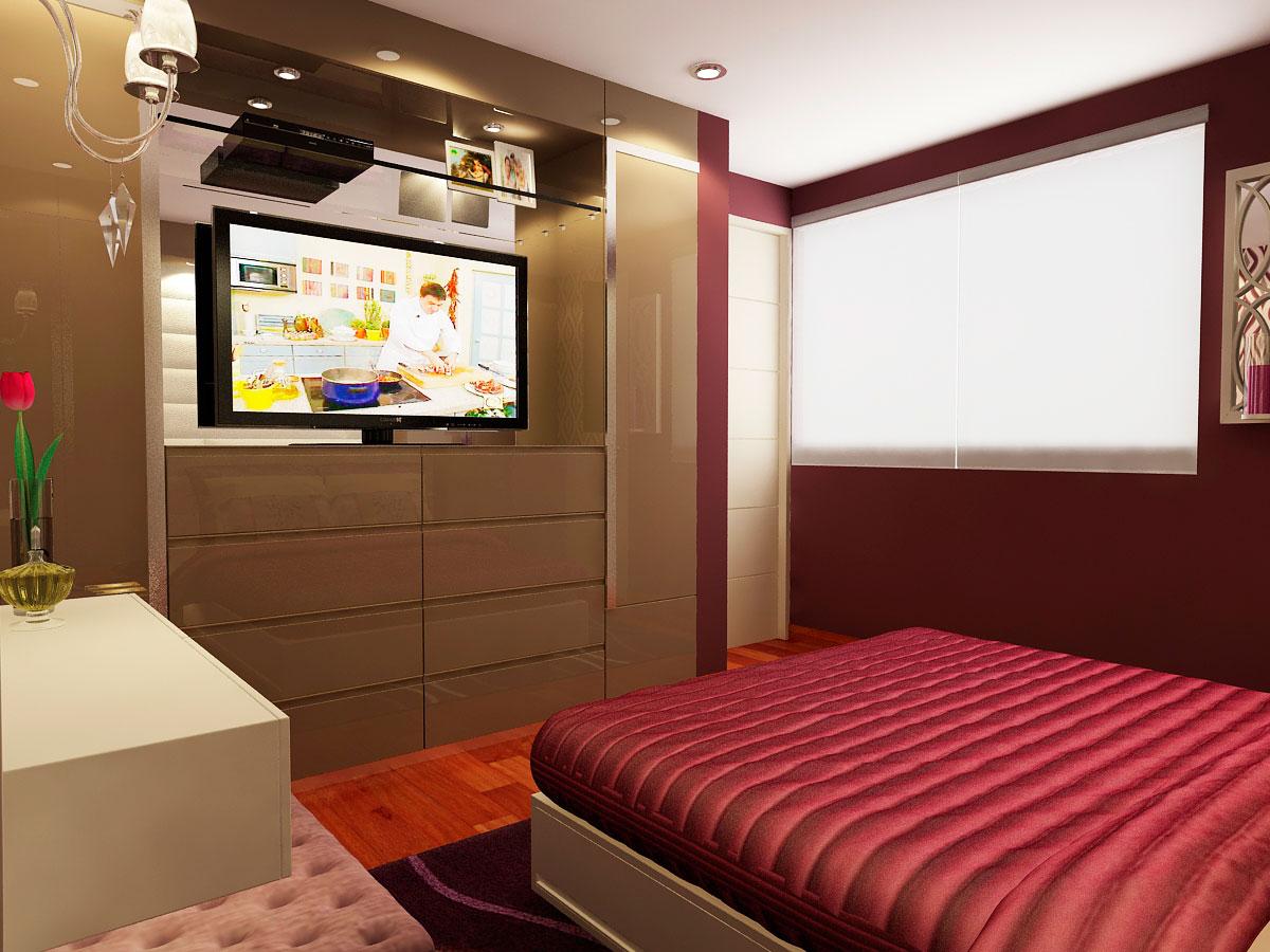 Dormitorio principal 4 carlos maza fernandinicarlos maza for Dormitorio principal